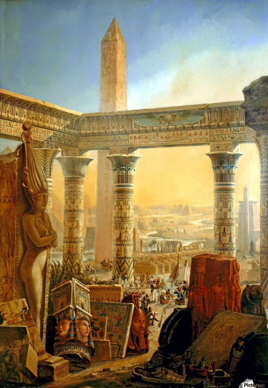 Monuments of Egypt, 1821  Imprimer