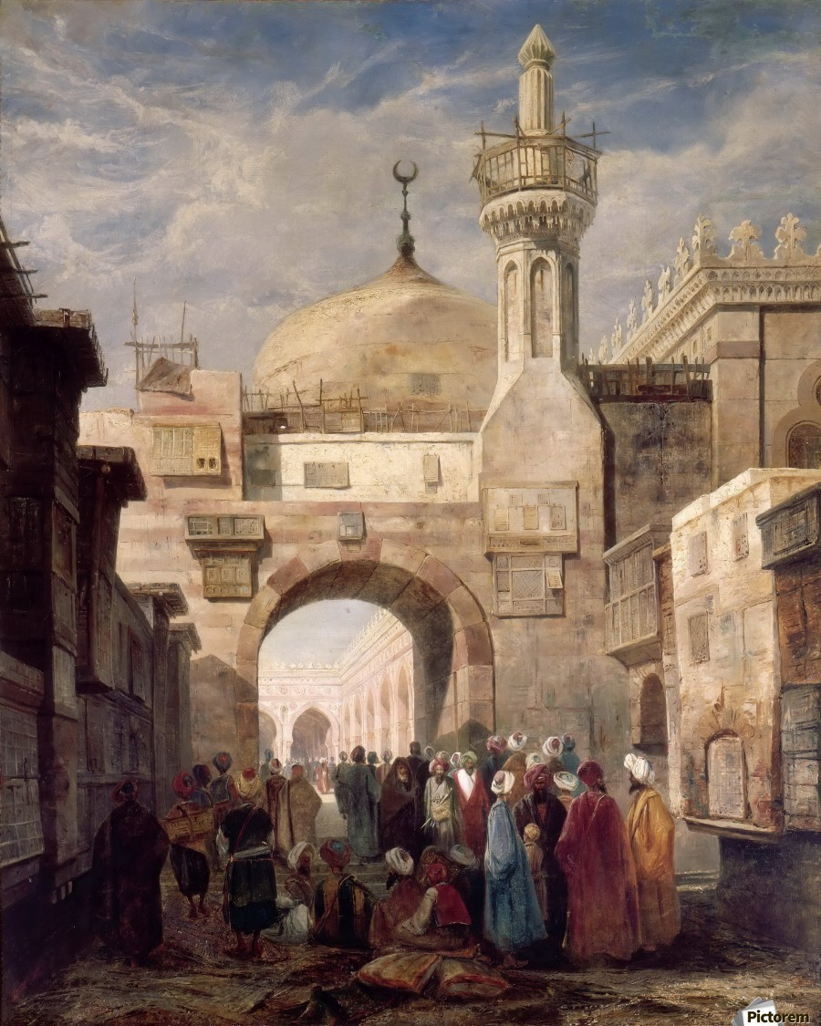 Mosque of Al Azhar in Cairo  Print