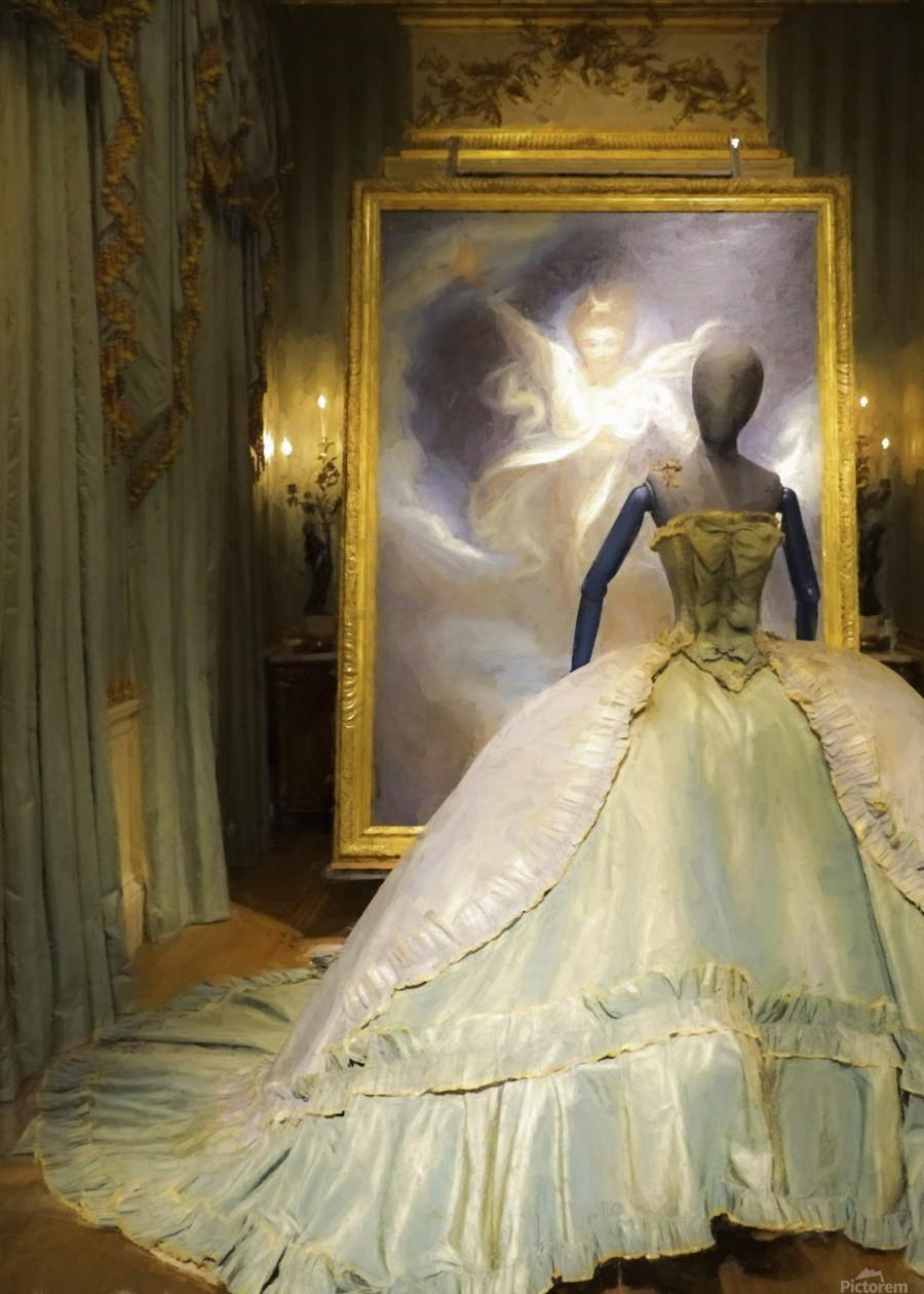 500 Years of Fashion: Chatsworth 2017 B  Print