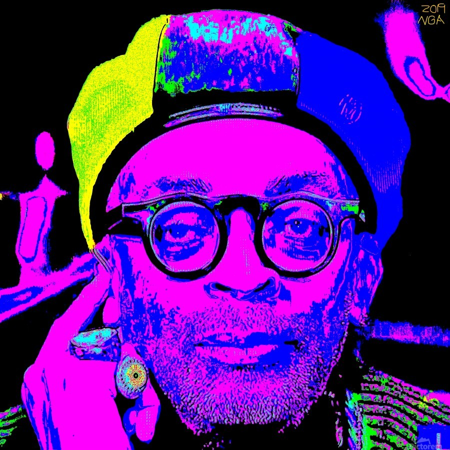 Spike Lee  -  by Neil Gairn Adams   Print