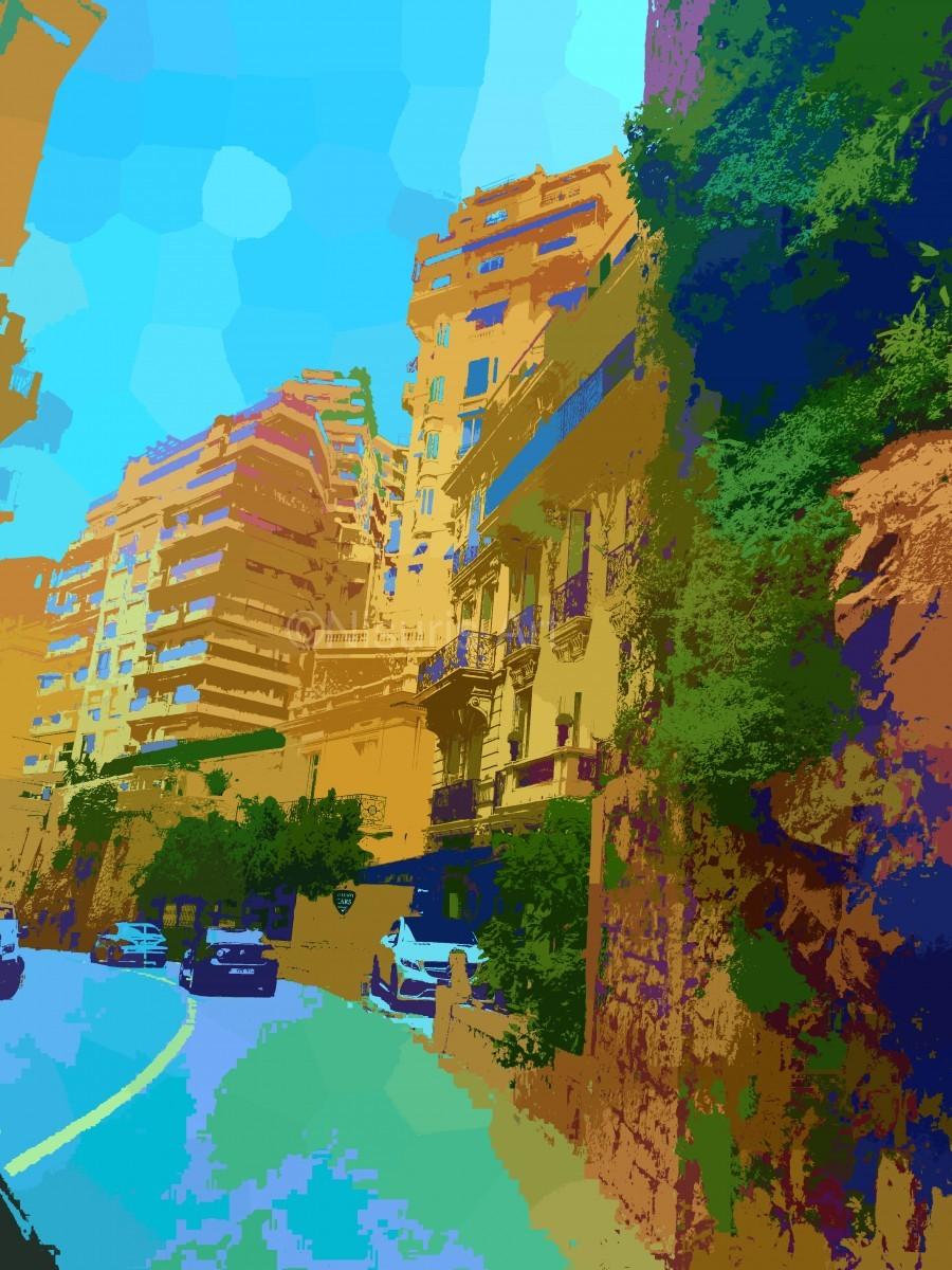 Monte Carlo Monaco Casino   Print