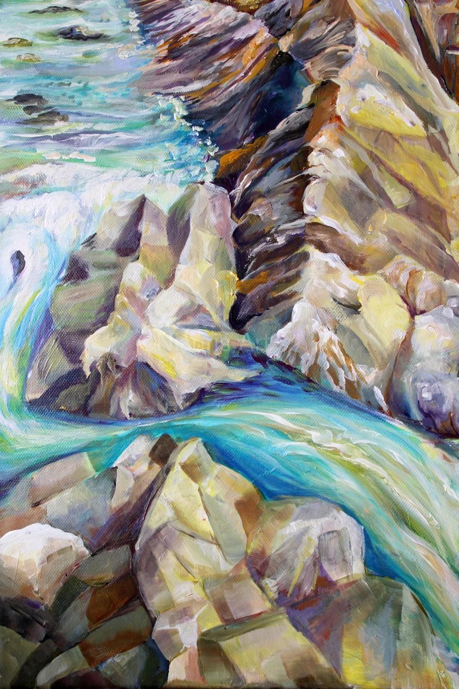 Rocky Mountains Crystel River Colorado  Print