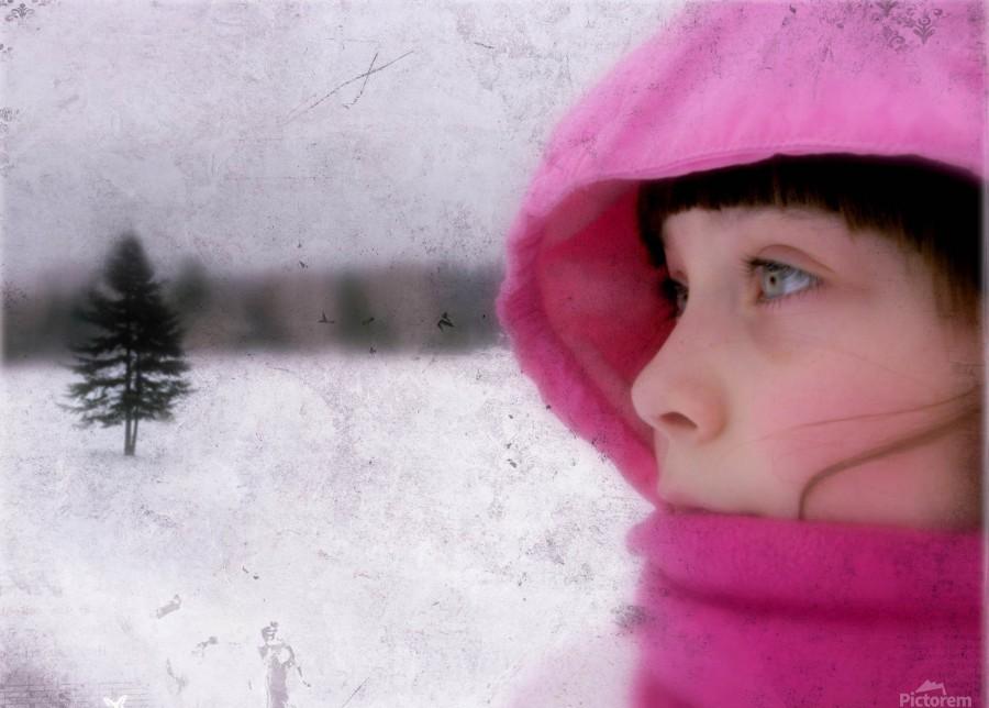Winter pink  Print