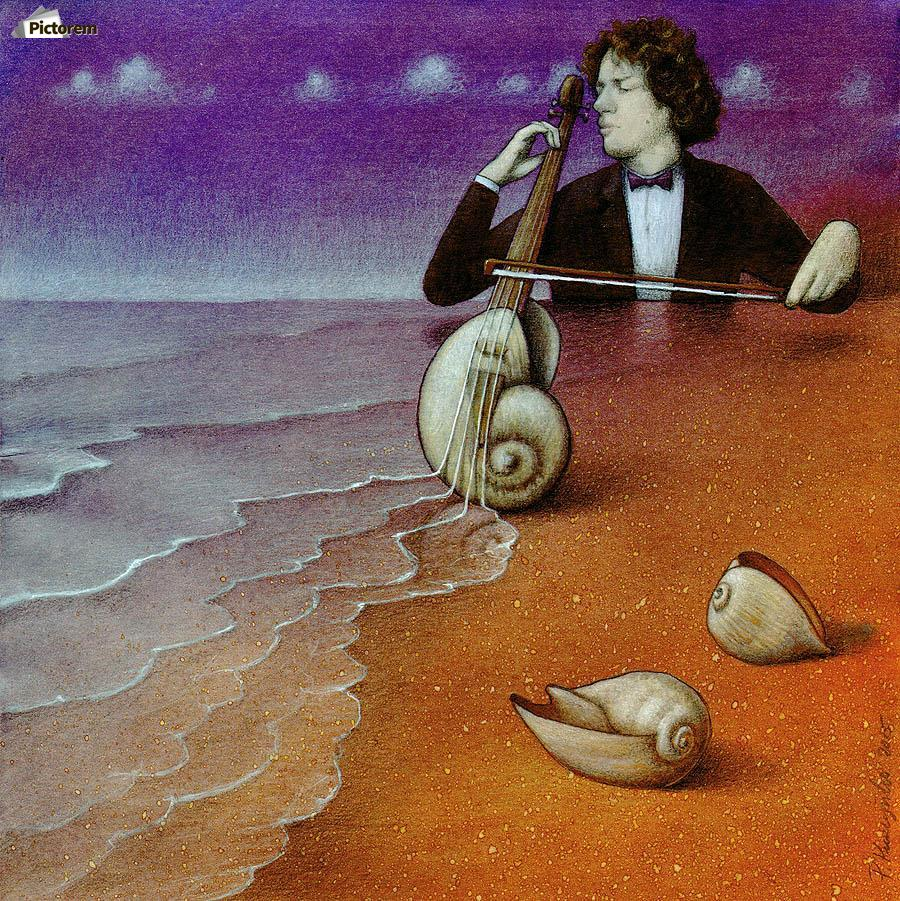Violin inspiration  Print