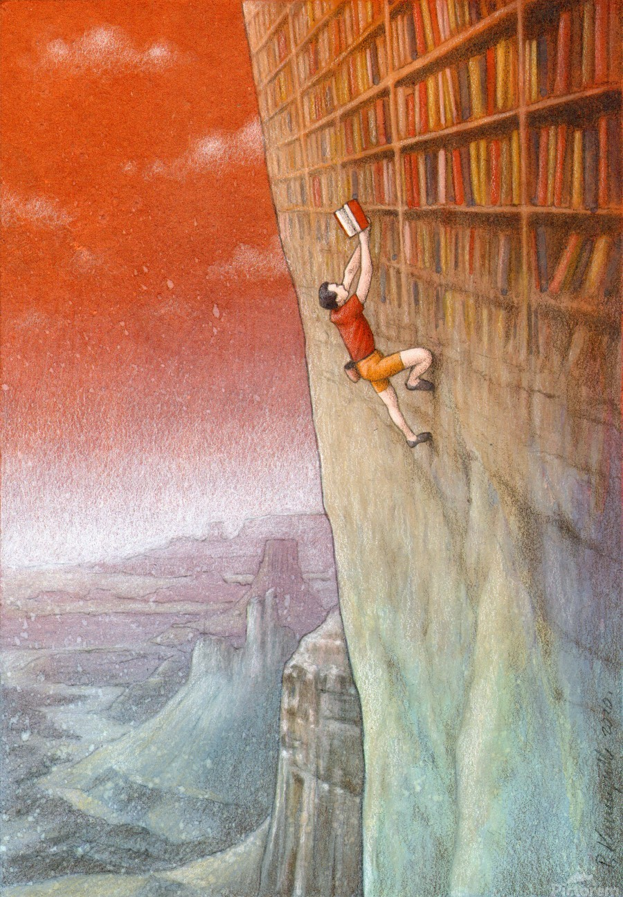 climbing  Print