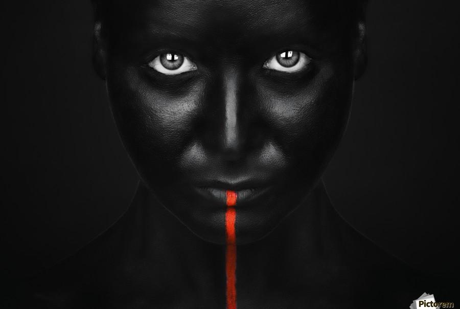 She's got the black  Print