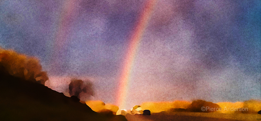 double rainbow  Print
