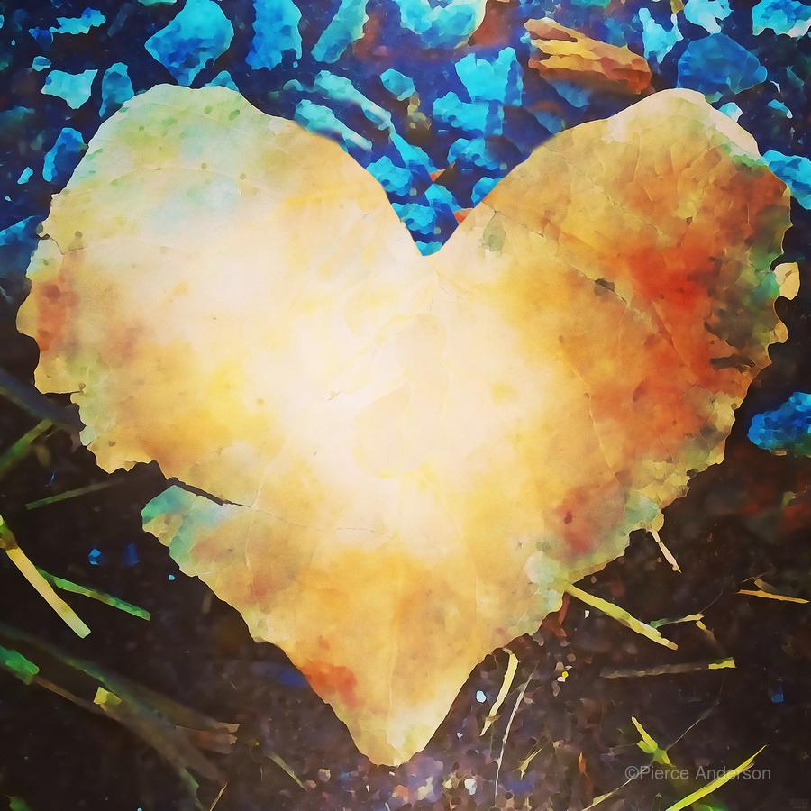 heart leaf  Print