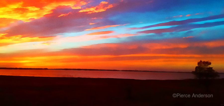 Lake Sky  Print