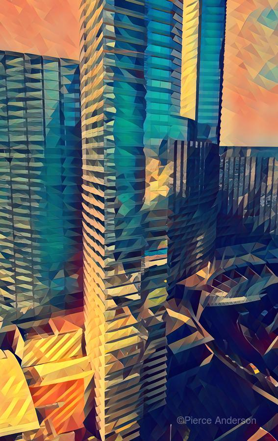 las vegas reflections  Print