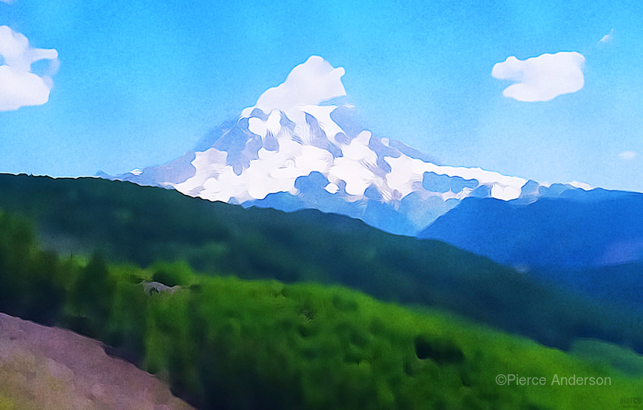 Mt. Ranier  Print