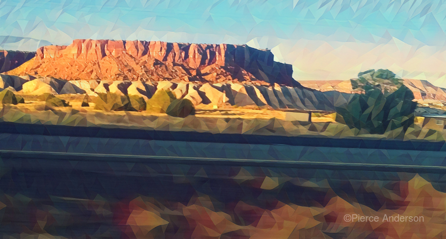new mexico highway  Print