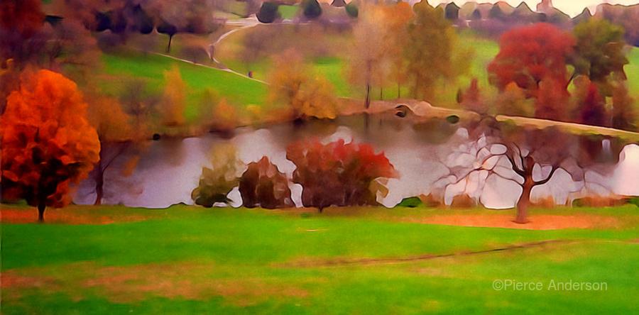 Fall Day at the University of Kansas  Print