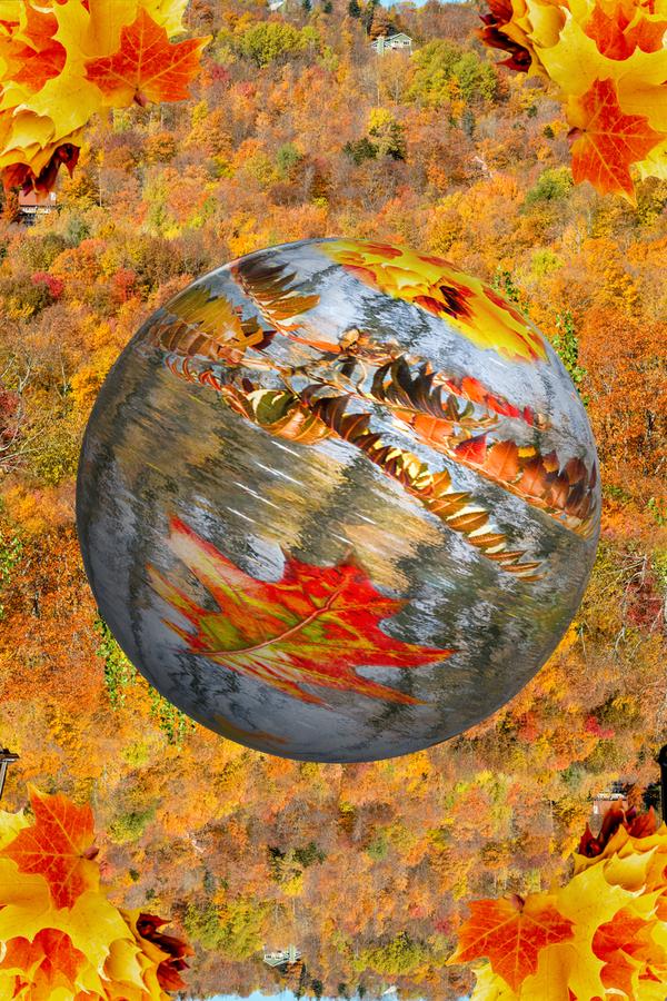 Abstract - Autumn II  Print