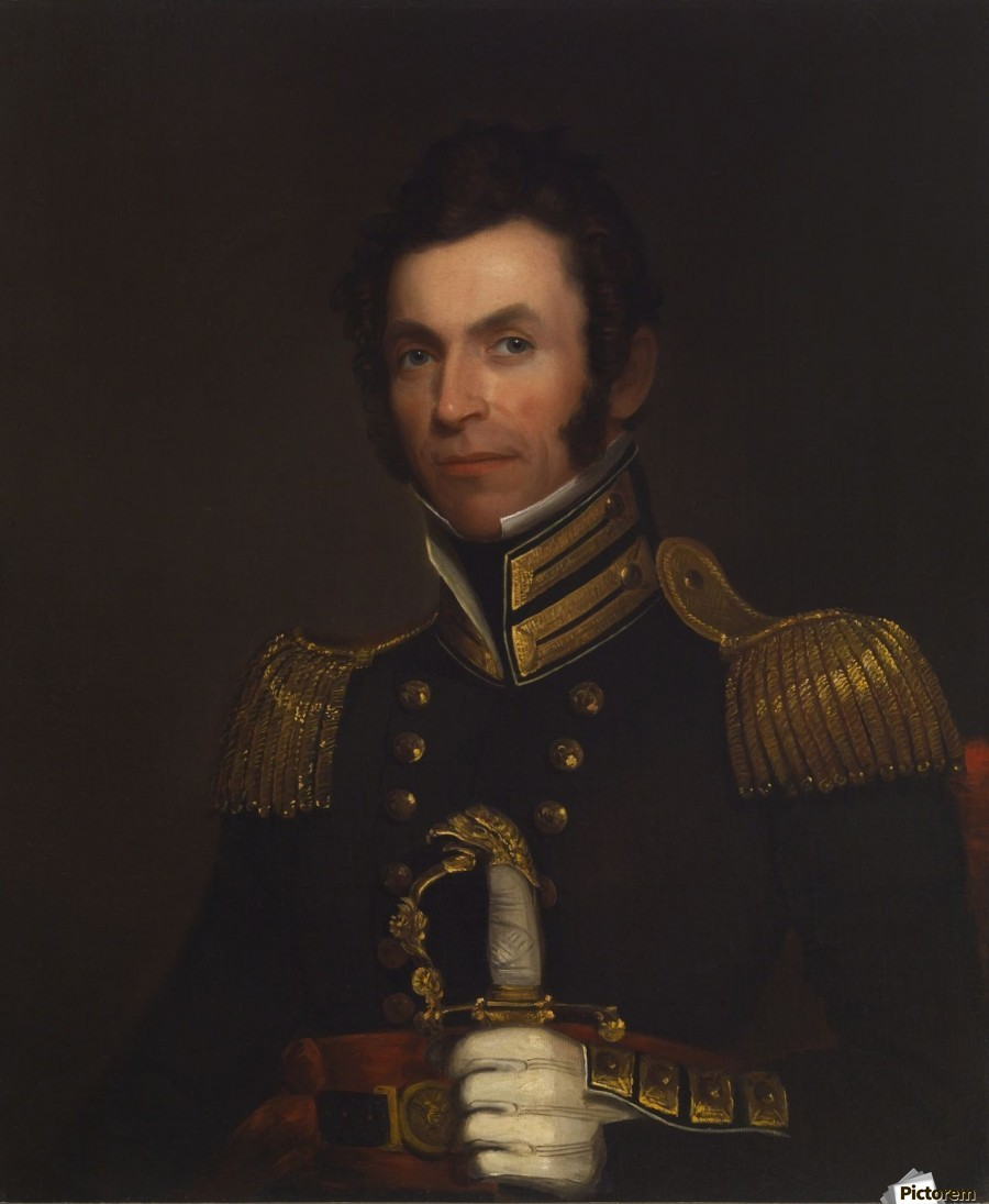 Portrait of Colonel Alexander Smith  Print