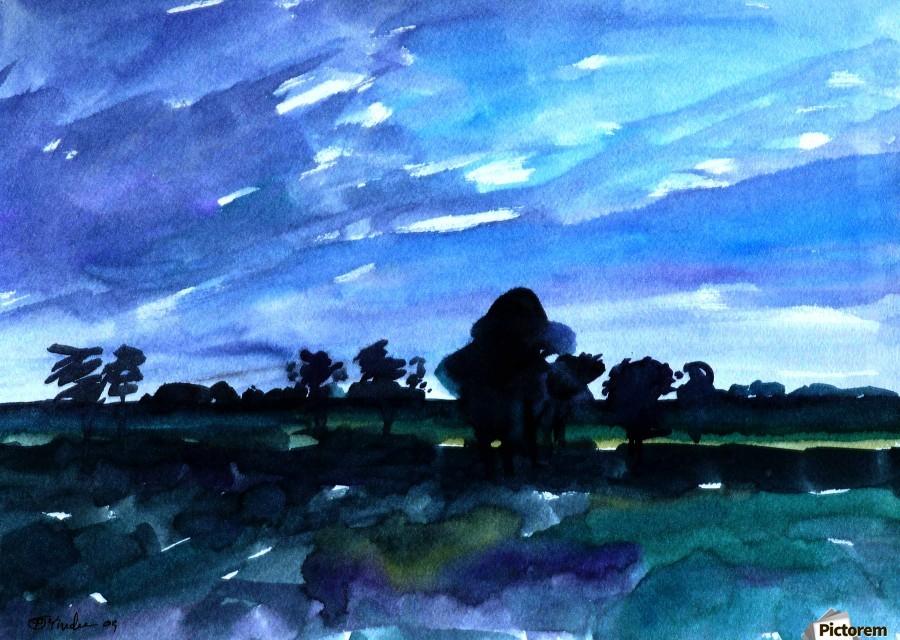 morning landscape 2  Print