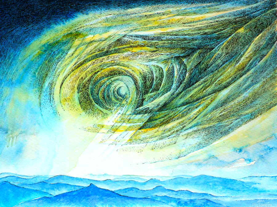 The sky 2  Print
