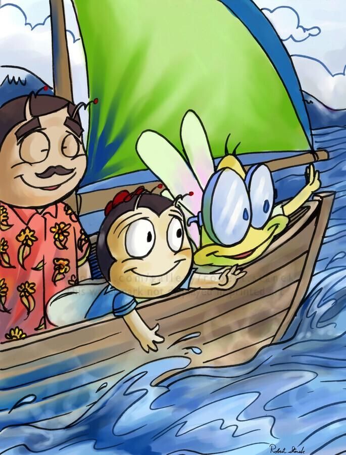Sail Away with Us  Print