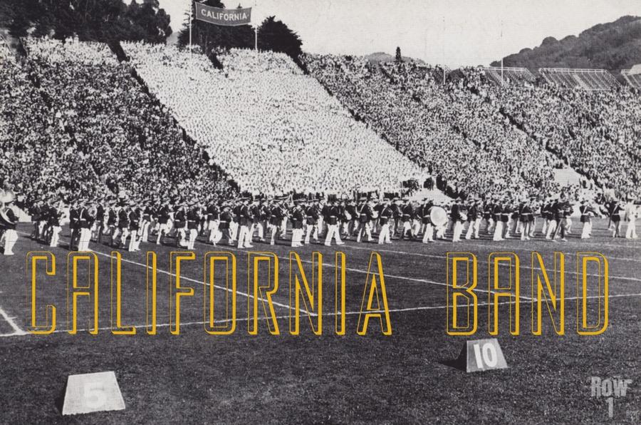 1937 California Marching Band Art  Print