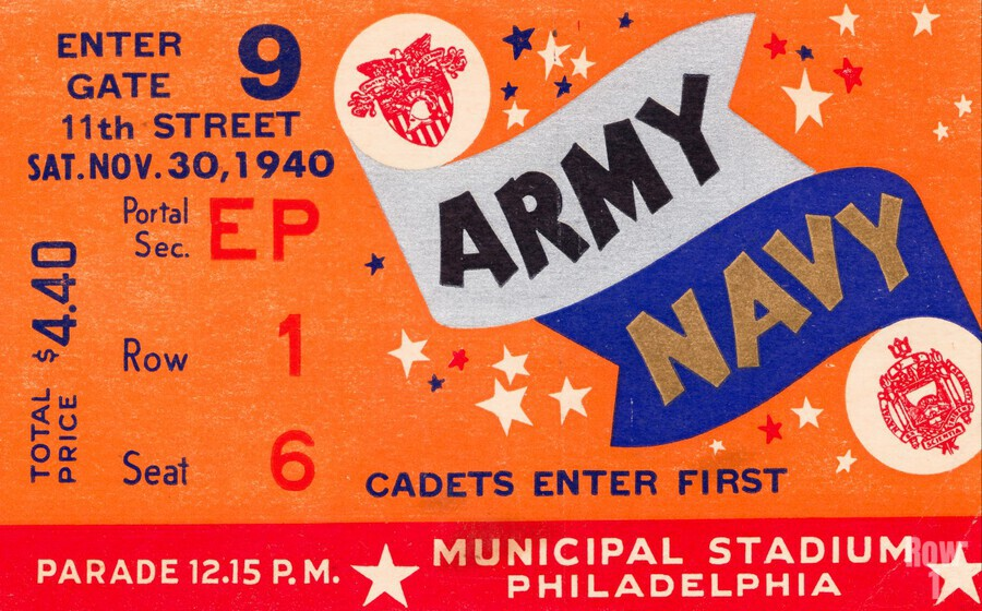1940 Army Navy Game  Print