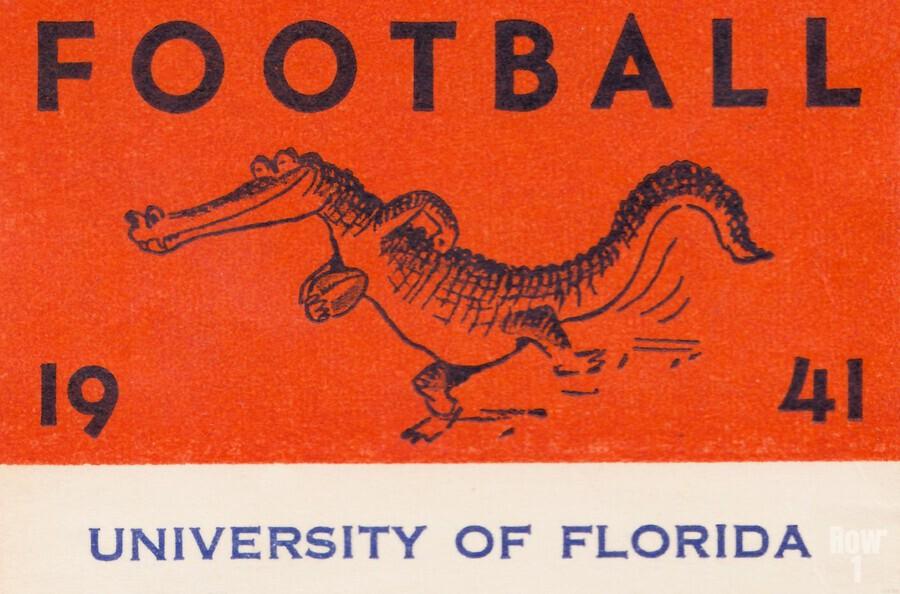 1941 Florida Gators Football  Print