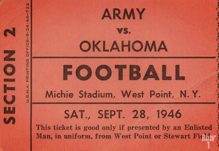 1946 Army vs. Oklahoma  Print