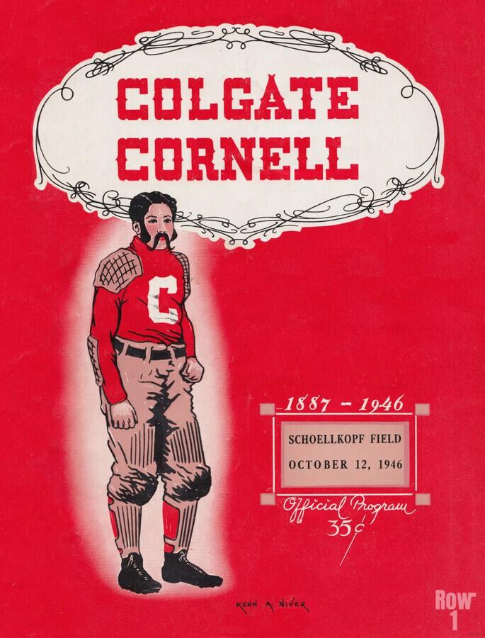 1946 Colgate vs. Cornell  Print