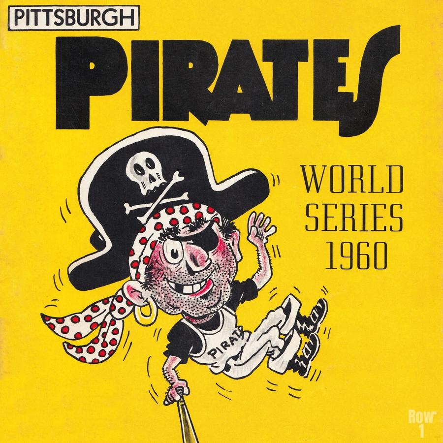 1960 Pittsburgh Pirates World Series Art  Print