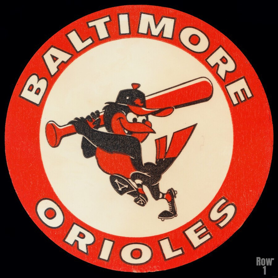 1960s Baltimore Orioles Art  Print