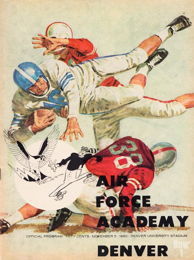 1961 Air Force vs. Denver  Print