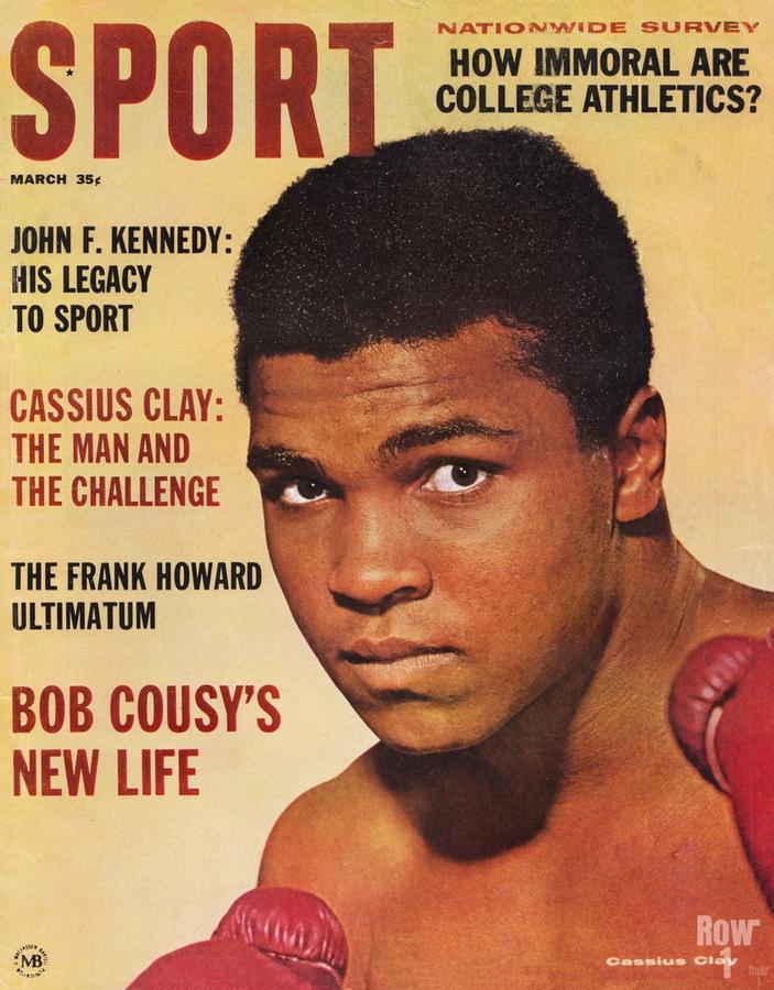 1964 Sport Magazine Muhammad Ali Cover  Print