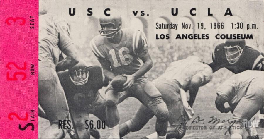 1966 UCLA vs. USC  Print
