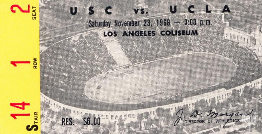 1968 UCLA vs. USC  Print