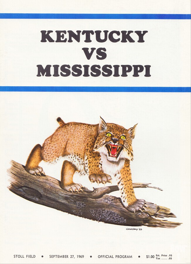 1969 Kentucky vs. Mississippi  Print