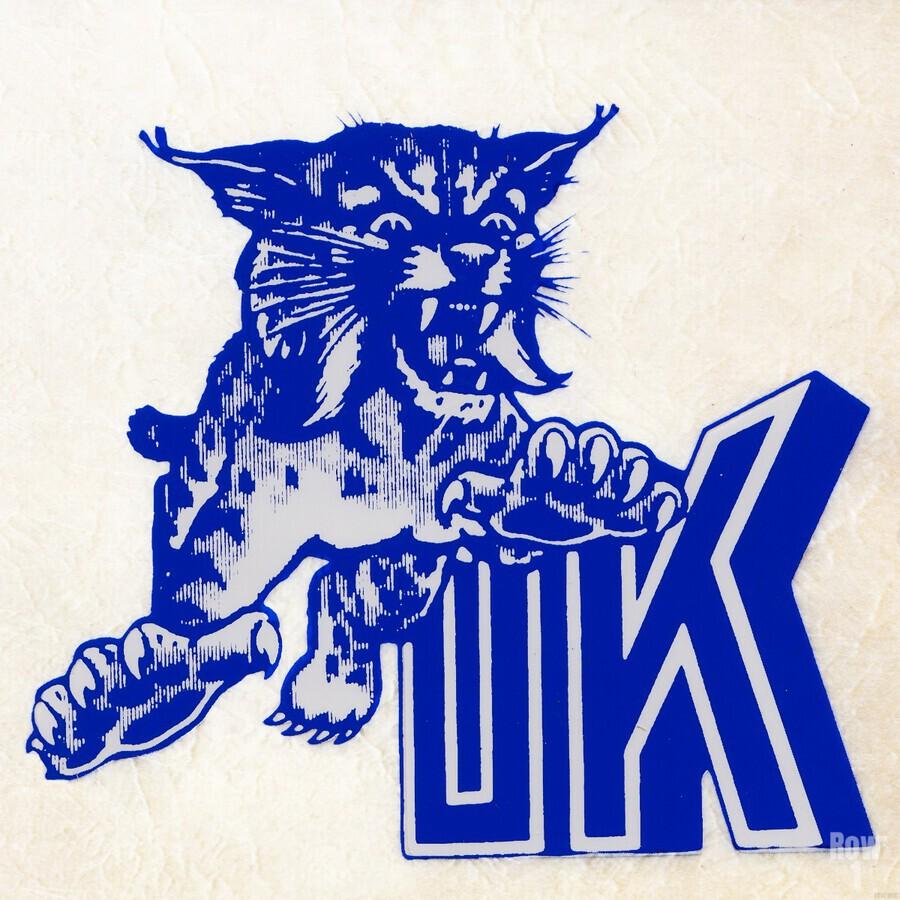 1970s kentucky wildcat  Print
