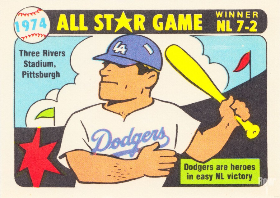 1974 Baseball All-Star Game  Print
