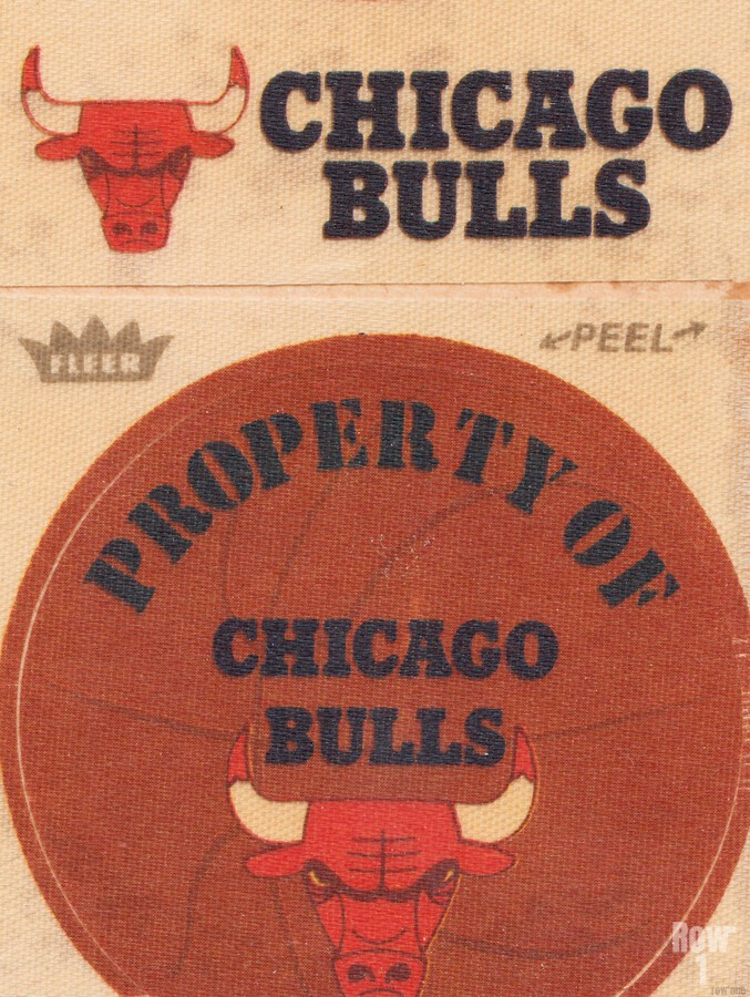 1974 Chicago Bulls Fleer Decal Art  Print