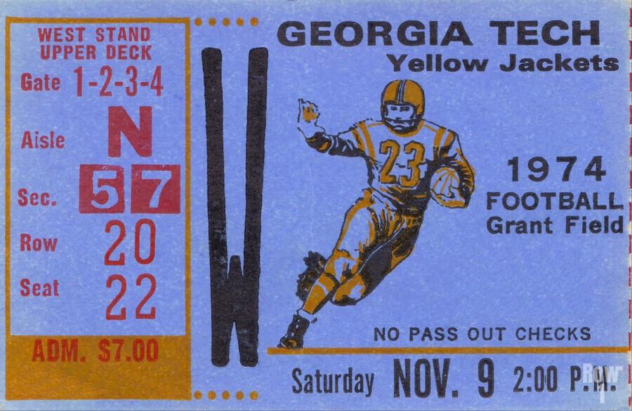 1974 georgia tech remix  Print