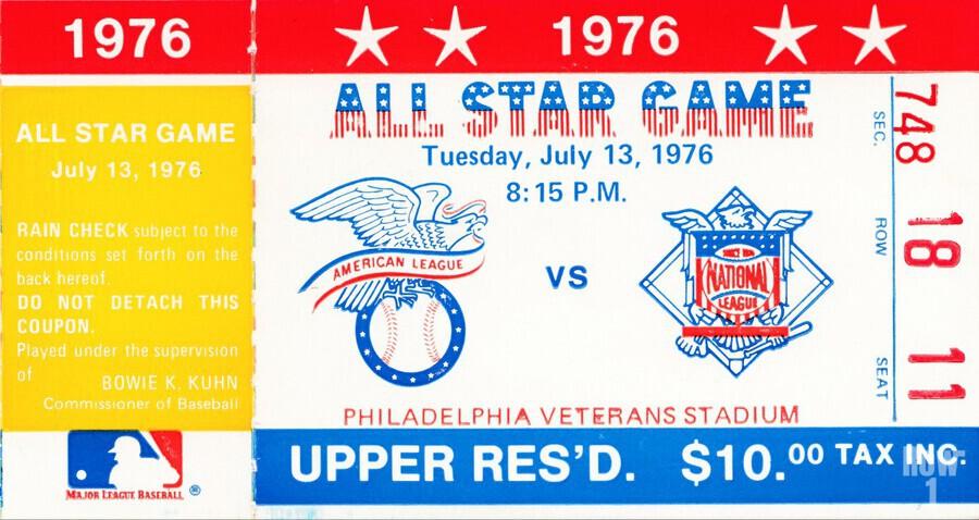 1976 All Star Game  Print
