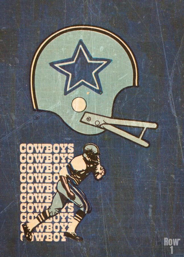 1976 Dallas Cowboys Wall Art  Print