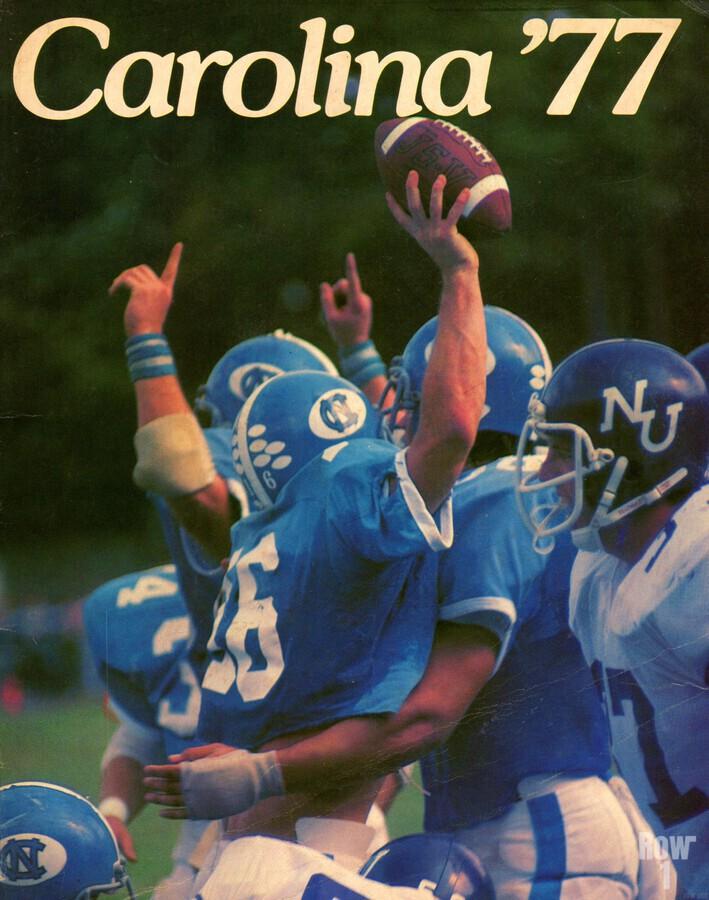 1977 Carolina Football  Print