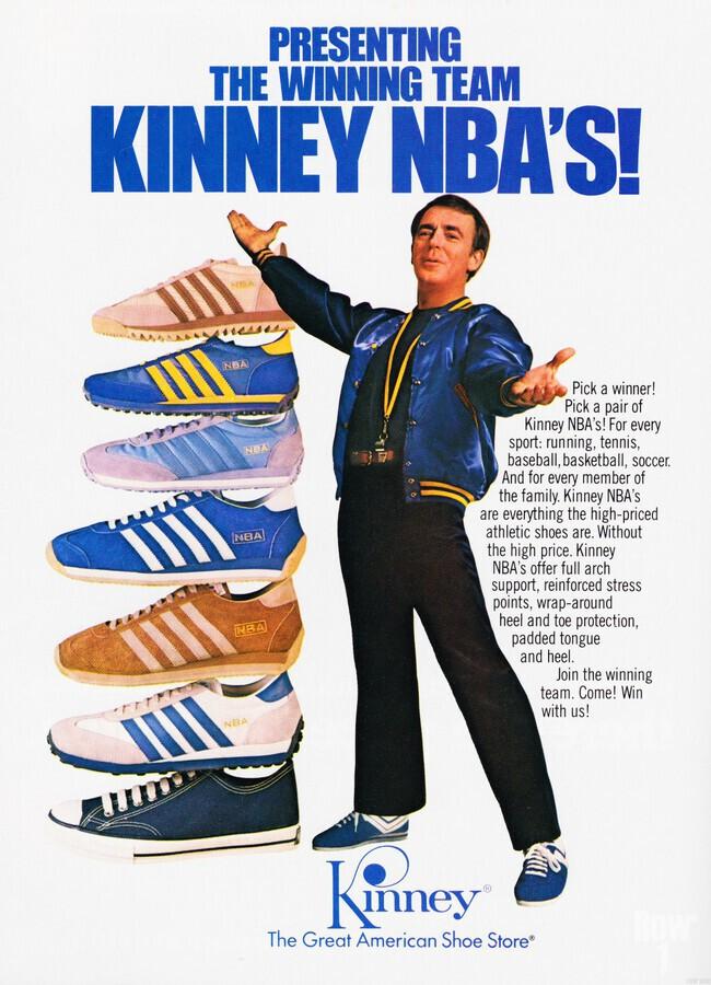 1979 Kinney NBA Shoes Ad  Print