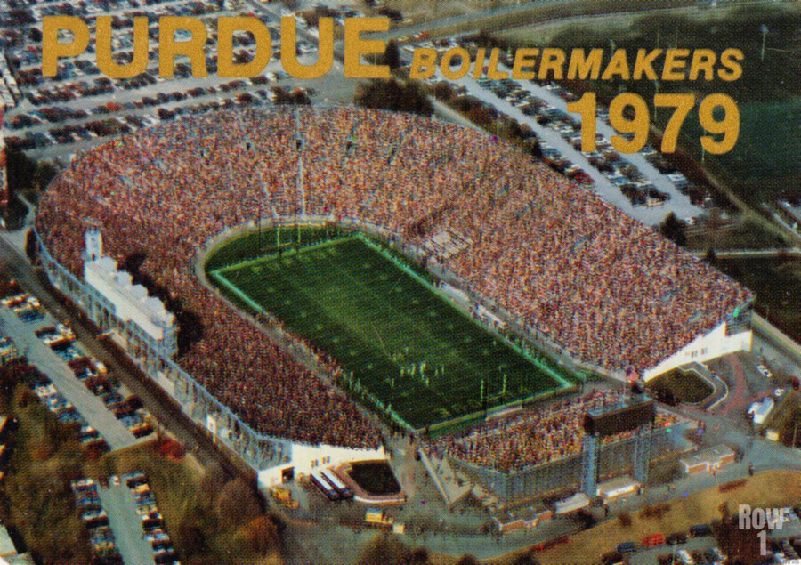 1979 Purdue Ross-Ade Stadium Art  Print