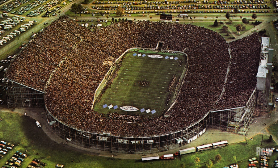 1981 Beaver Stadium Art  Print