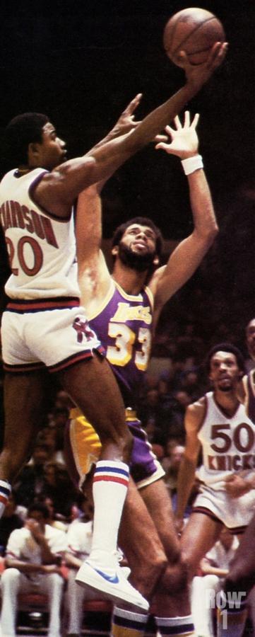 1981 Knicks vs. Lakers Art  Print
