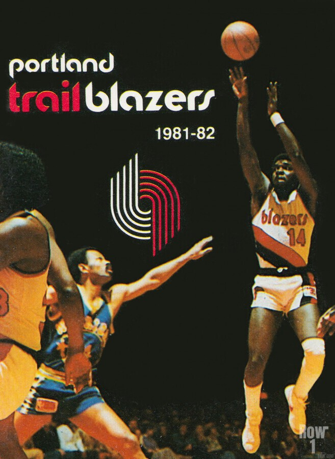 1981 Portland Trailblazers Art  Print