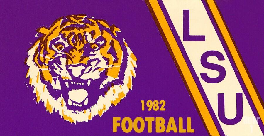 1982 LSU Football  Print