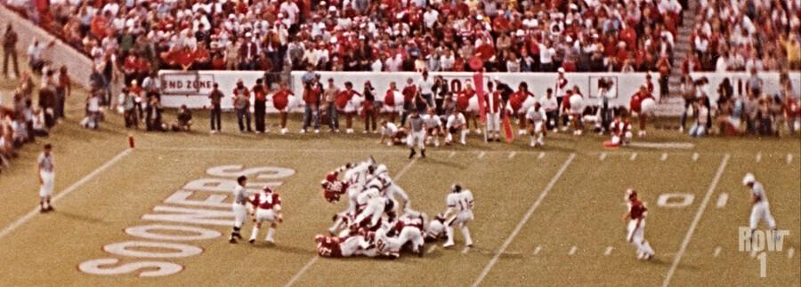 1982 Oklahoma vs. OSU Marcus Dupree Touchdown  Print