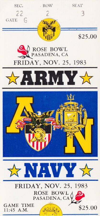 1983 Army vs. Navy  Print