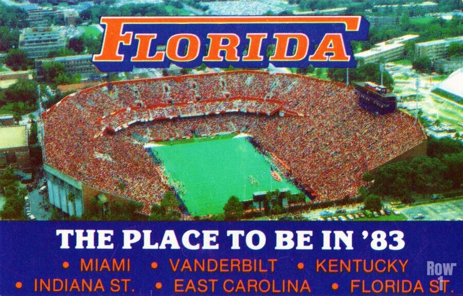 1983 college football florida gators place to be in 83  Print